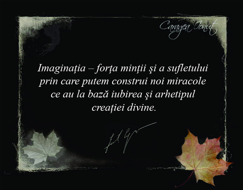 Ionut Caragea - Imaginatia